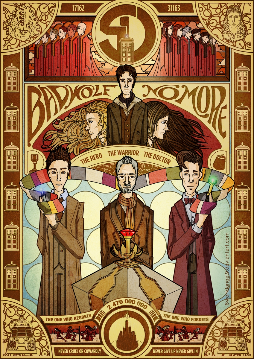 The Day of the Doctor by 6worldangel9