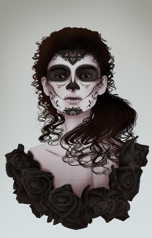 Dias de los Muertos by 6worldangel9