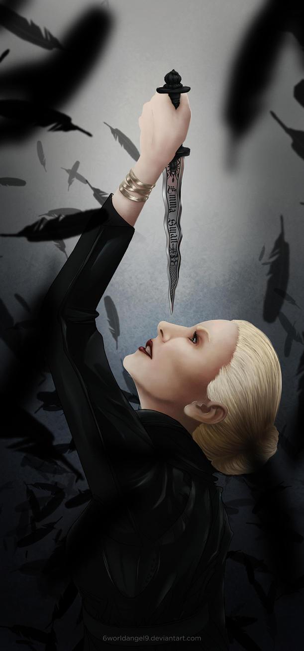 The Dark Swan by 6worldangel9