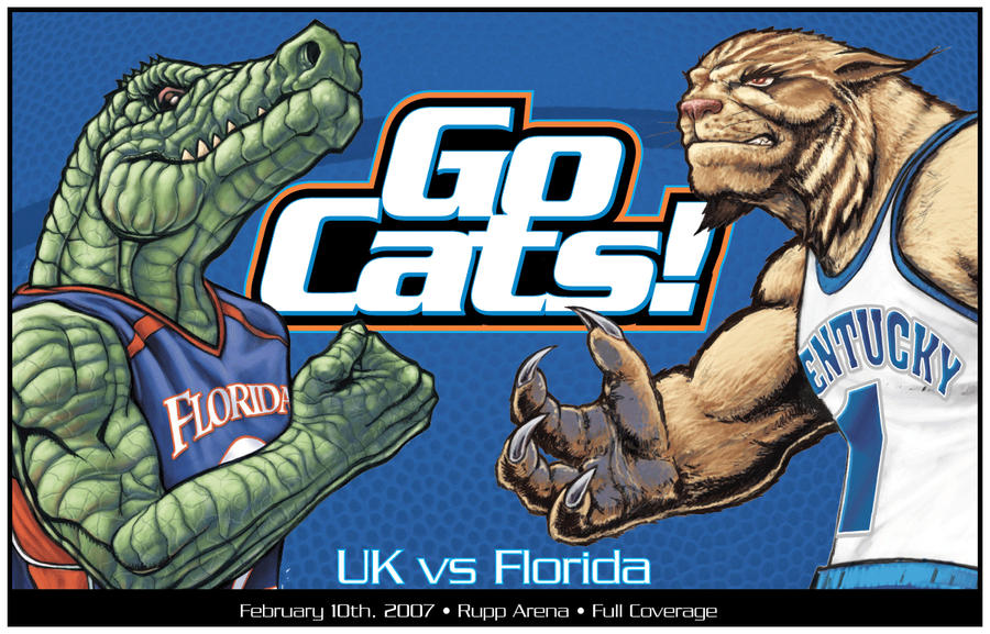 Kentucky Basketball Preview Wildcats Will Be Elite Again: Wildcats Vs Gators By ChuckMullins On DeviantArt