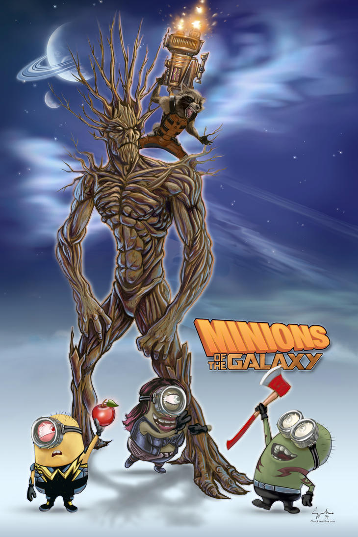 Minions of the Galaxy by ChuckMullins