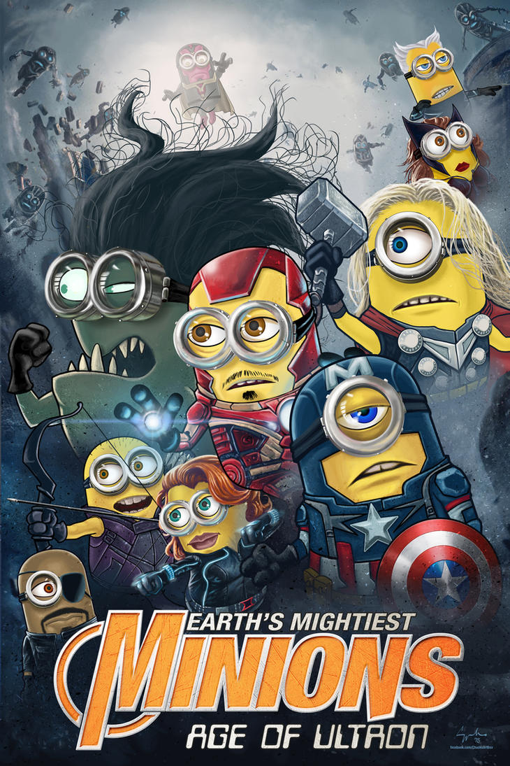 Avengers Age Of Ultron By Iloegbunam On Deviantart: Earth's Mightiest Minions Avengers Age Of Ultron By