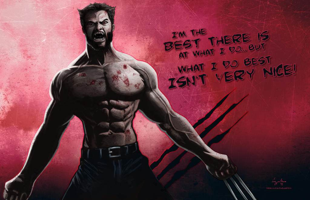 Wolverine Best There Is by ChuckMullins
