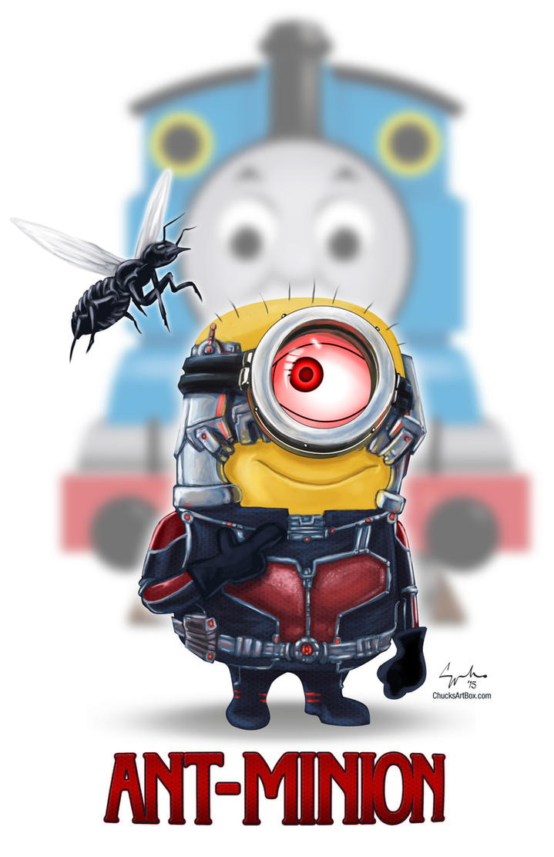 Ant-Minion Marvel Minion Movie Mash-up Mayhem by ChuckMullins