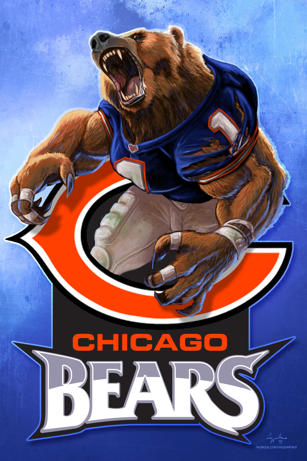chicago bears wallpapers 2015