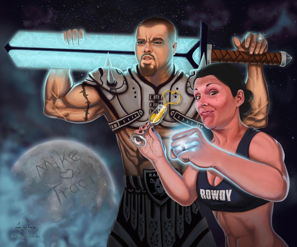 Rowdy Raider Love by ChuckMullins