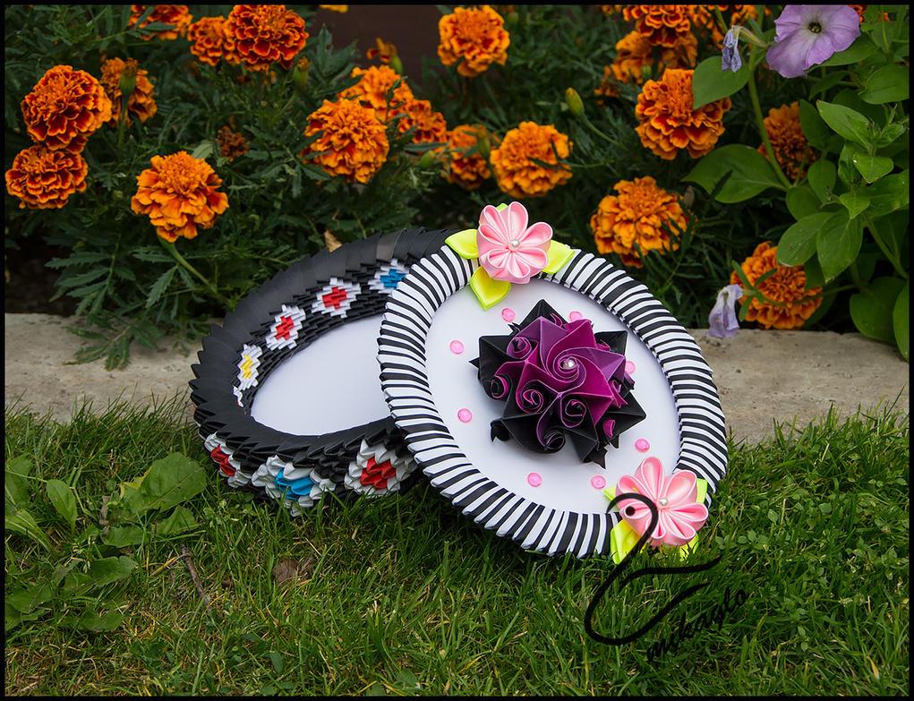Mikaglo Flower Box Origami Modular By Majka16g On Deviantart