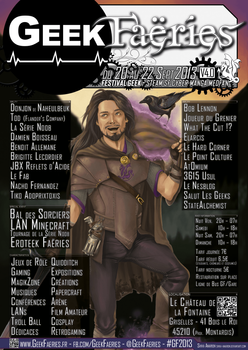 Geek Faeries flyer by Shiva-Anarion