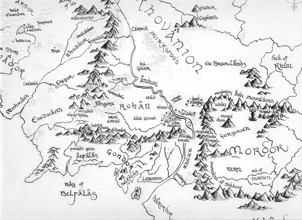 Amazing Map Of Middle Earth Print Pictures Printable Map New