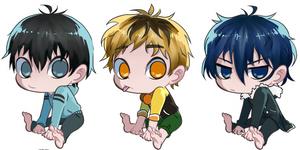 TG Chibi: 1 (ken, Hide, Ayato)