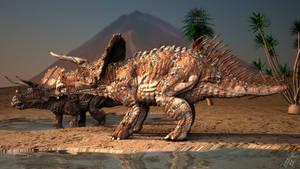 Triceratops H. Horner by CROW-DIE