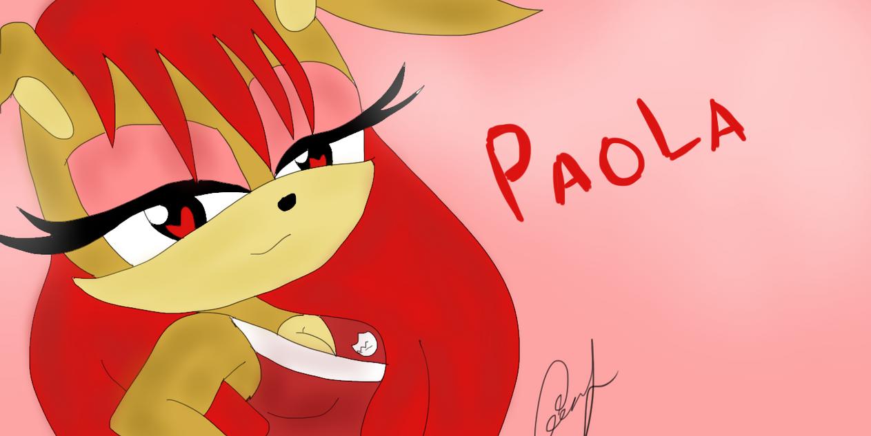 PAOLA THE RABBIT by NanaMariana22