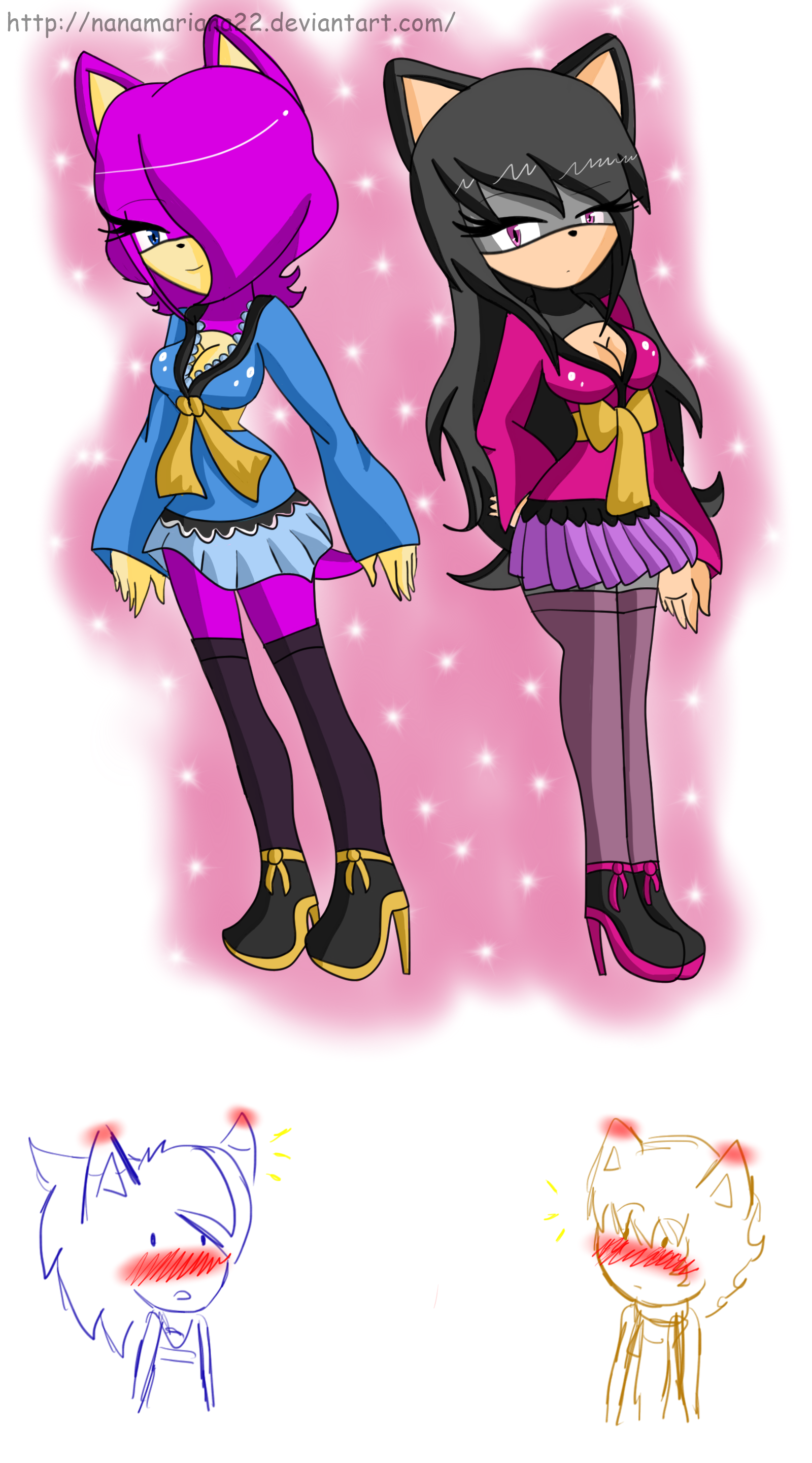 Mabel and Leslie by NanaMariana22