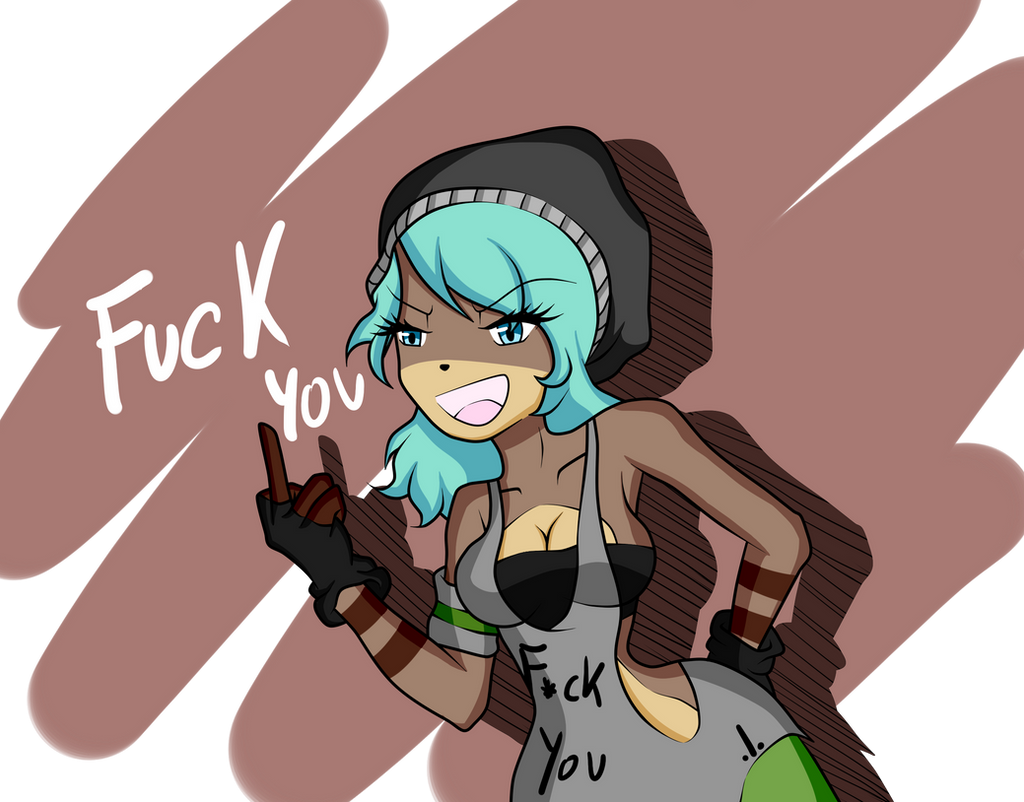 F-ck You! by NanaMariana22