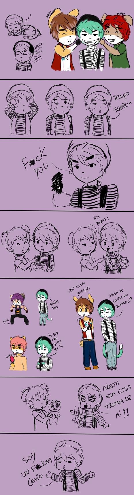 B7 Rod .:Doodles:. by NanaMariana22