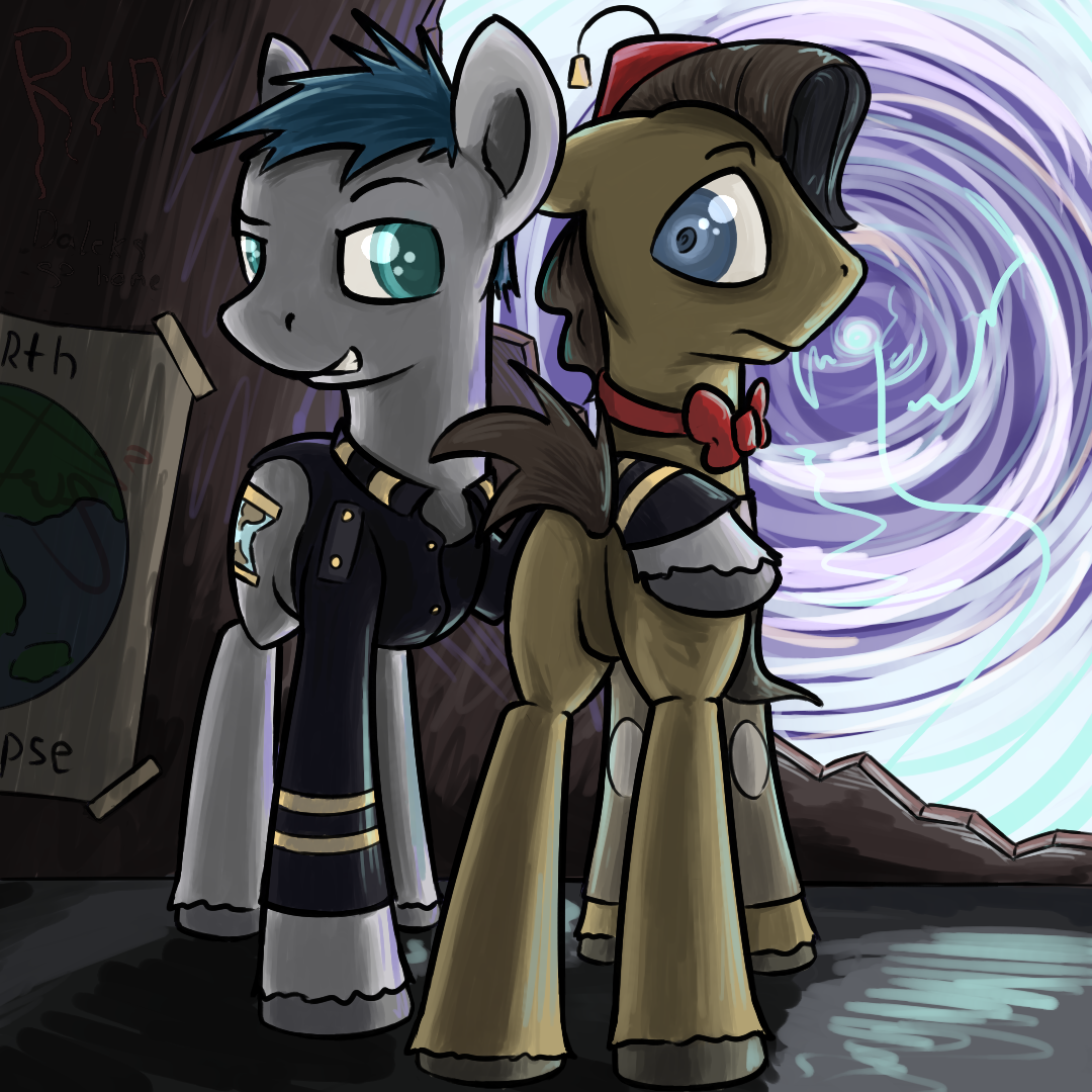 Doctor Who and Captain Jack by TwilightSquare