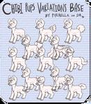 Chibi pup variations base remake (P2U)