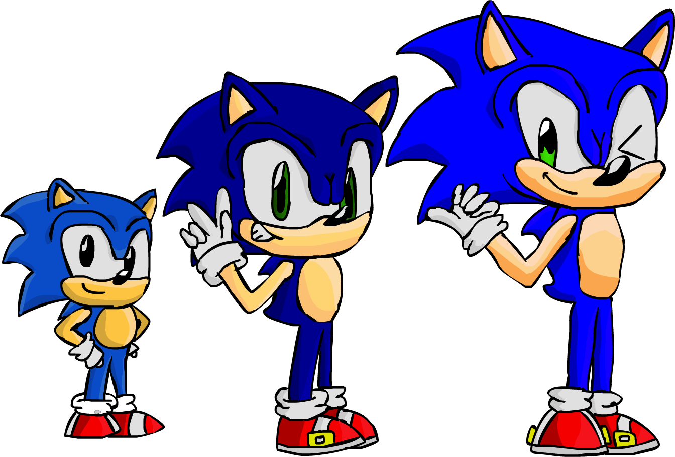 Sonic Sonic Sonic by DigitalPear