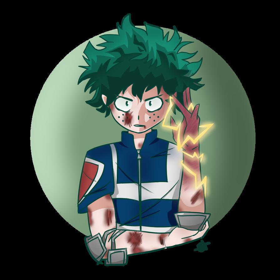 My Hero Academia Png: Izuku Midoriya (My Hero Academia) By WolfinaMiyuki On