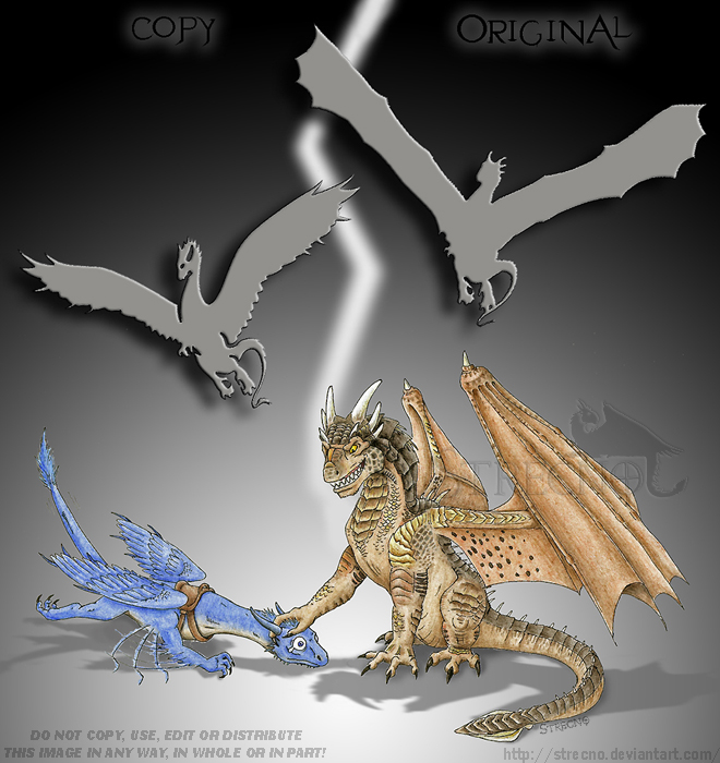 Draco vs. Saphira 2 by Strecno