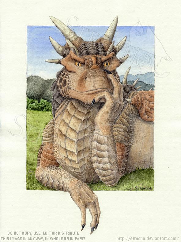 Draco Portrait by Strecno