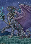 ACEO for Aishila,  Star Dragoness