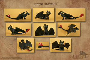 Sitting Toothless 2 by Strecno