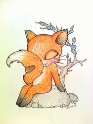 Shy Fox by Maranvee