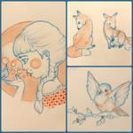 Random doodles by Maranvee