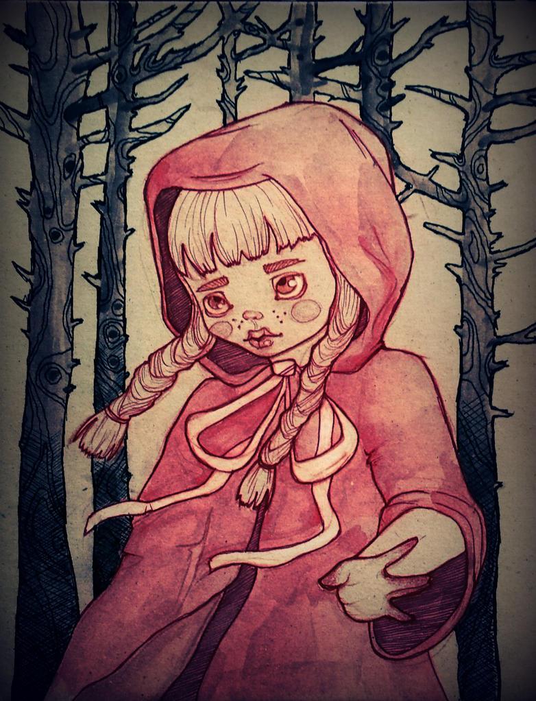 Little red riding hood by Maranvee