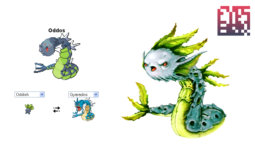 Pokemon Oddos by eyesbox