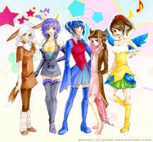 Pokemon: Gijinka by Atomic-Clover