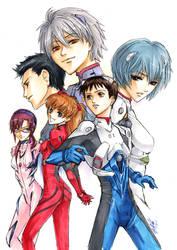 Evangelion: The Children by Atomic-Clover