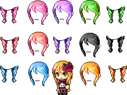 Mixed Hair 2 o3o by xcandycane5654
