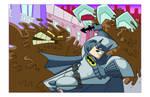 Batman versus Clayface