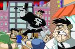 Punisher versus Jigsaw