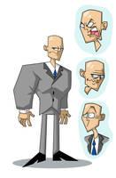 Luthor model sheet by Madatom