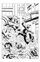 Spiderman sample page1 by Madatom