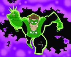 Green Lantern Hal Jordan by Madatom