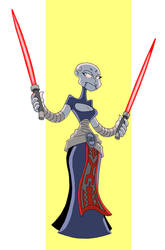 Ventress by Madatom