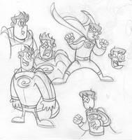 Crusader sketch 12
