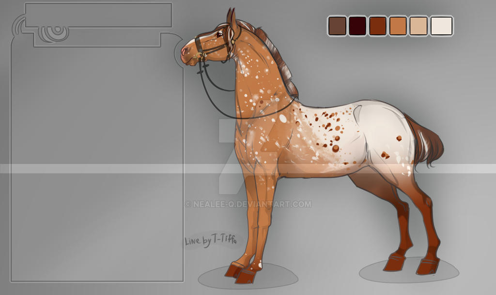 Horse adopt #3 [closed] by nealee-q