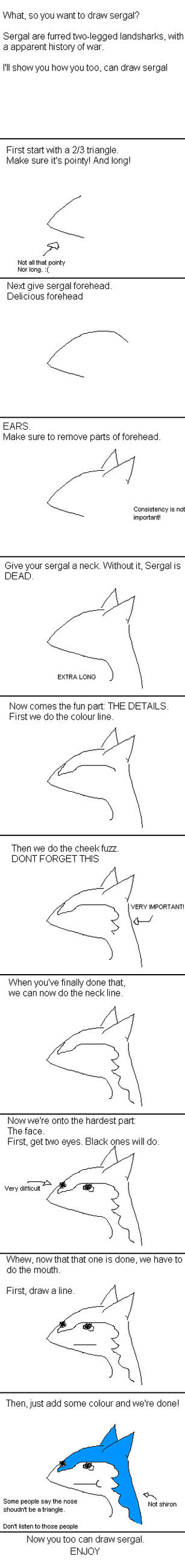 Sergal tutorial