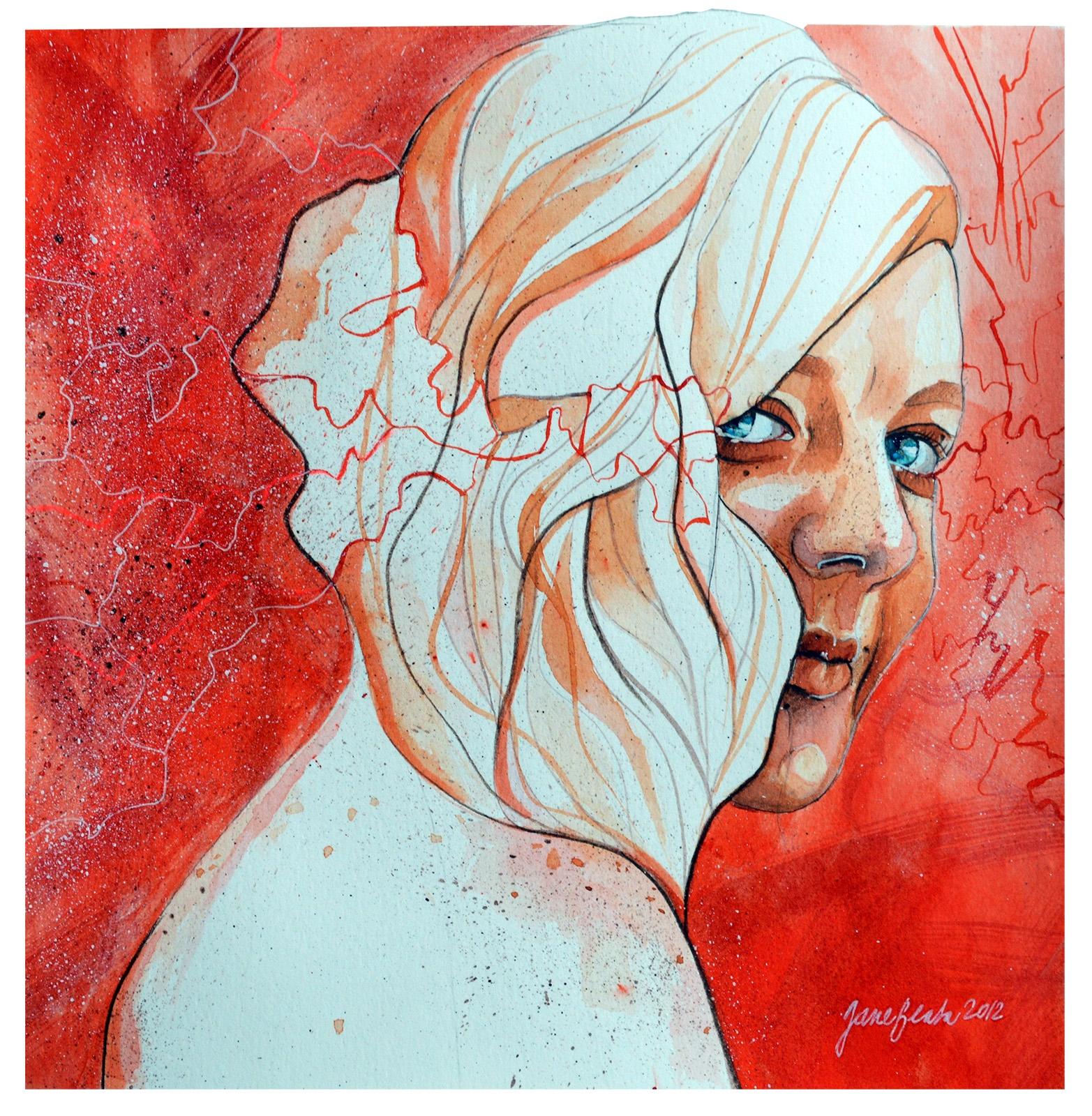 Self portrait by jane-beata