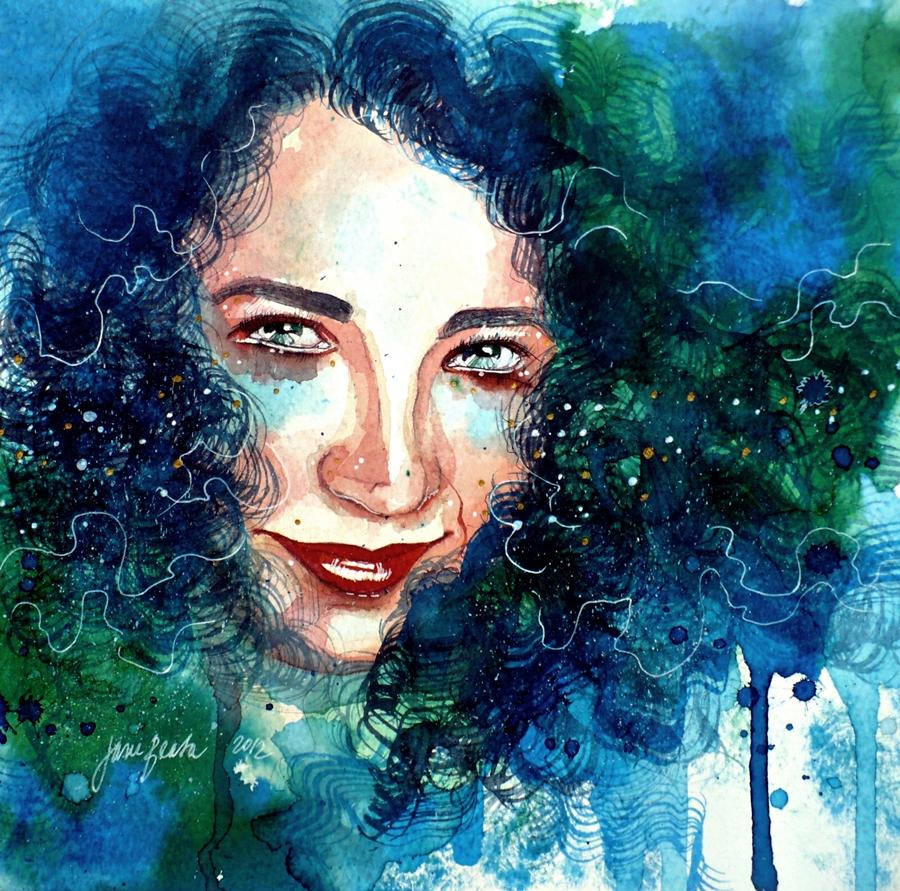 Portrait of a friend: Athena by jane-beata