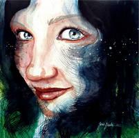 Portrait of a friend: Universe in me