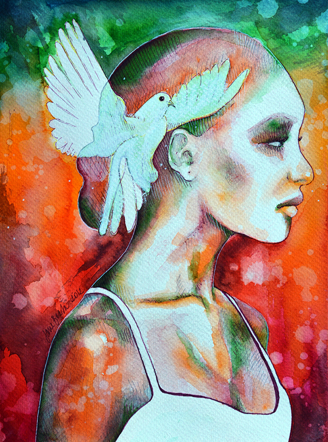 Summer (Speed painting) by jane-beata
