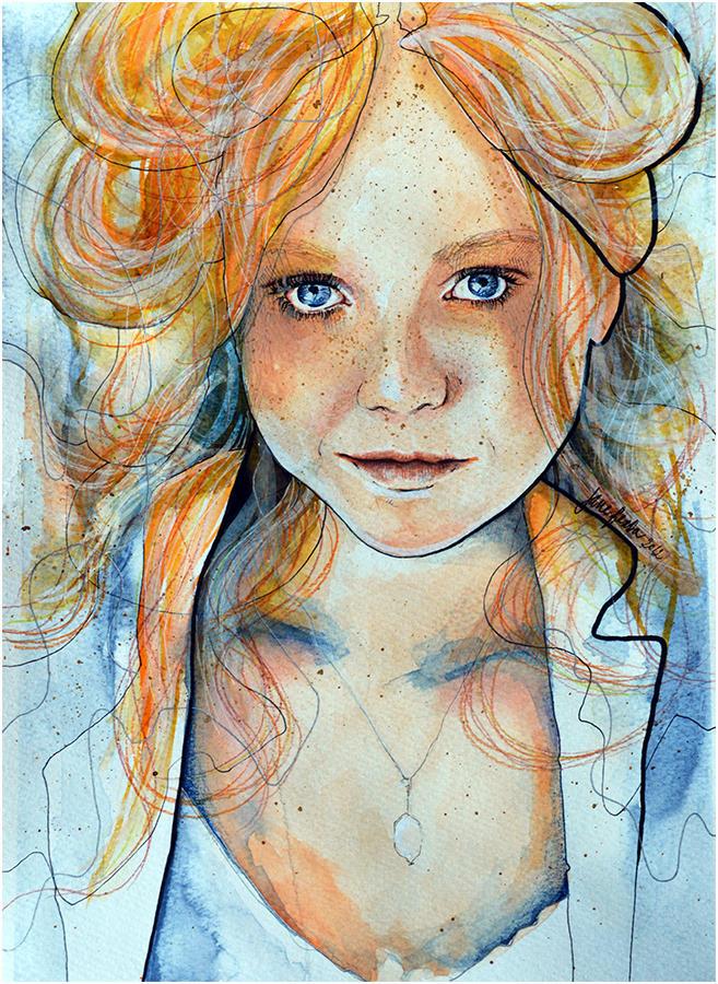 Portrait of deviant: Secret sunrise by jane-beata