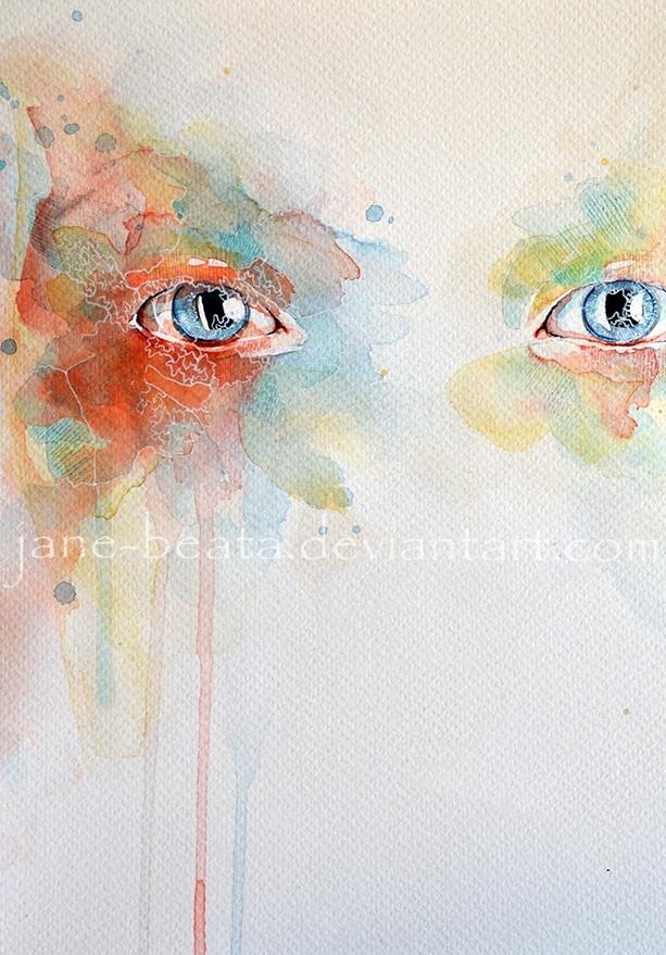 Watercolor study III by jane-beata