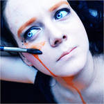 Canvas, self portrait by jane-beata